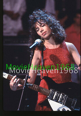 THE BANGLES GROUP Susanna Hoffs VINTAGE 35mm SLIDE TRANSPARENCY 10486 PHOTO