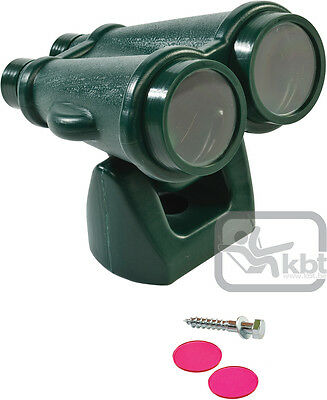BINOCULARS GREEN Outdoor Play Equipment Fort Cubby House Accessories Toy Kids