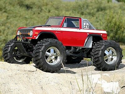 Hpi 7179 1973 Ford Bronco Body [Clear 1/8Th Monster Truck Body Shells] New!