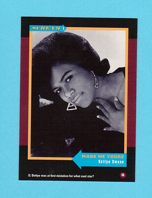 Bettye Swann Soul Music Collector Card  Have a Look!
