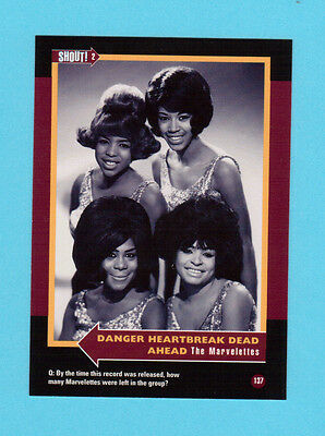 The Marvelettes Soul Music Collector Card  Have a Look!