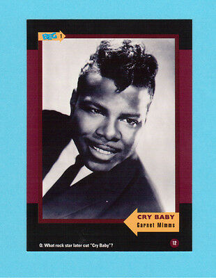 Garnet Mimms  Soul Music Collector Card  Have a Look!