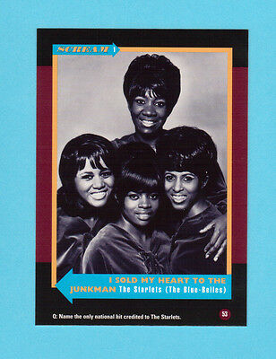 The Starlets The Blue Belles Soul Music Collector Card  Have a Look!