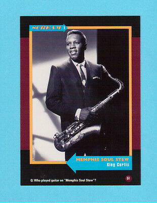 King Curtis Soul Music Collector Card  Have a Look!