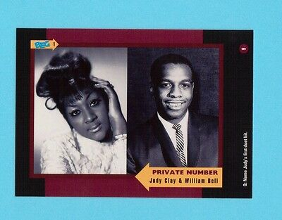 Judy Clay & William Bell Soul Music Collector Card  Have a Look!