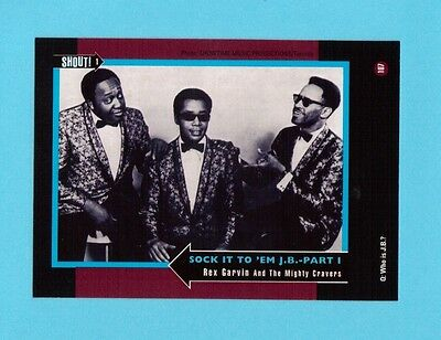 Rex Garvin & The Mighty Cravers Soul Music Collector Card  Have a Look!