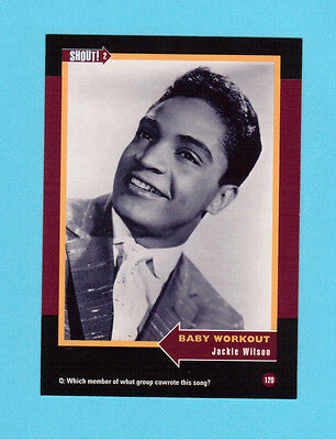 Jackie Wilson Soul Music Collector Card  Have a Look!