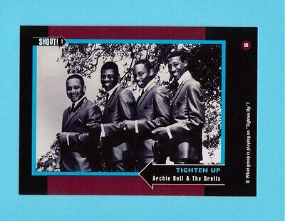 Archie Bell & The Drells  Soul Music Collector Card  Have a Look!