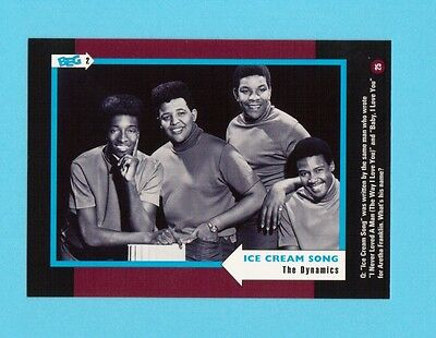 The Dynamics  Soul Music Collector Card  Have a Look!