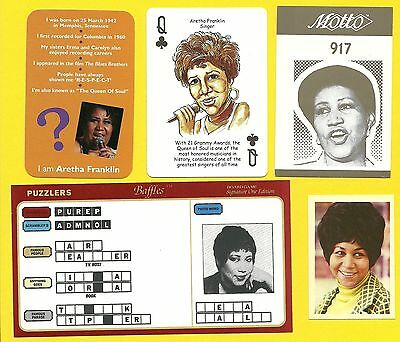 Aretha Franklin Fab Card Collection The Queen of Soul Amazing Grace American A