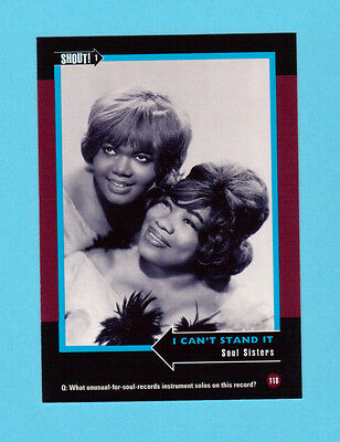 Soul Sisters  Soul Music Collector Card  Have a Look!
