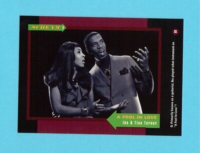 Ike & Tina Turner Soul Music Collector Card  Have a Look!