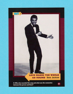Deon Jackson  Soul Music Collector Card  Have a Look!