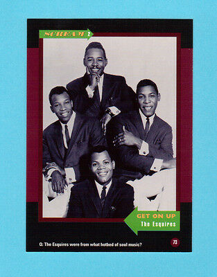The Esquires  Soul Music Collector Card  Have a Look!