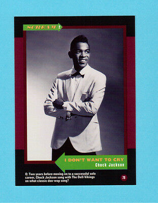Chuck Jackson Soul Music Collector Card  Have a Look!