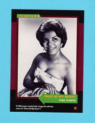 Erma Franklin Soul Music Collector Card  Have a Look!