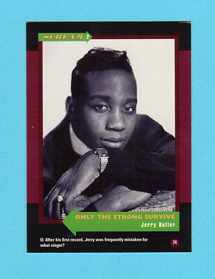 Jerry Butler Soul Music Collector Card  Have a Look!