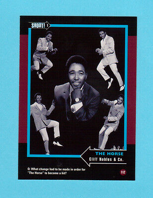 Cliff Nobles & Co. Soul Music Collector Card  Have a Look!