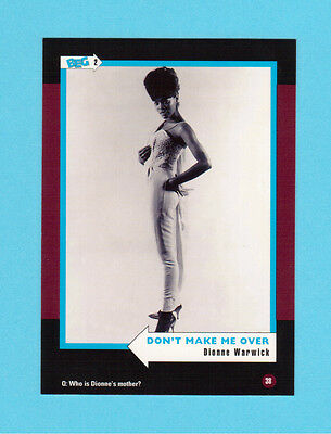 Dionne Warwick  Soul Music Collector Card  Have a Look!