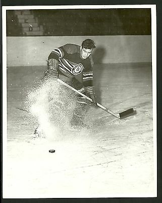 George Ferguson Chicago Blackhawks 1960s Vintage Hockey Press Photo