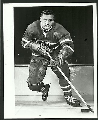 Dickie Moore Montreal Canadiens Turofsky 1960s Vintage Hockey Press Photo