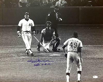 Reggie Jackson #2 Reprint Photo Autographed Signed Picture 8X10 Ny Yankees Rp