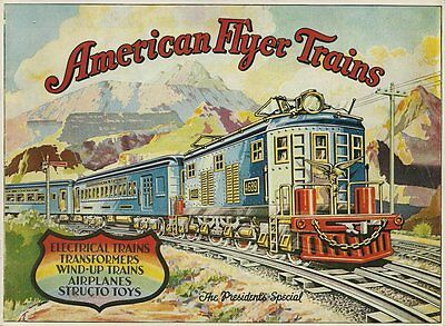 1977 Reprint of The 1929 American Flyer Trains Catalog - VG Condition