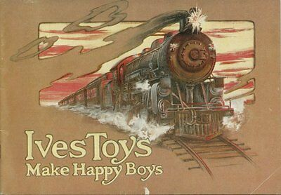 1976 Reprint of The 1917 Ives Toy Trains Catalog - Great Condition