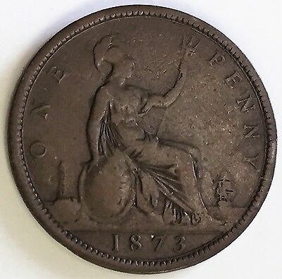 C3392    Great Britain   Coin,    Large Penny    1873