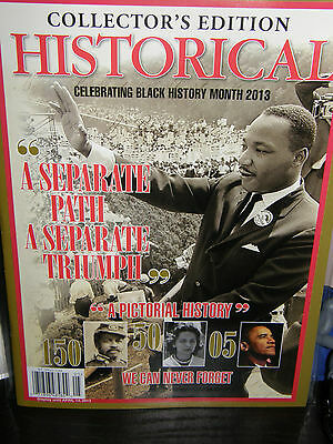Historical     Black History    collector's edition 2013 magazine