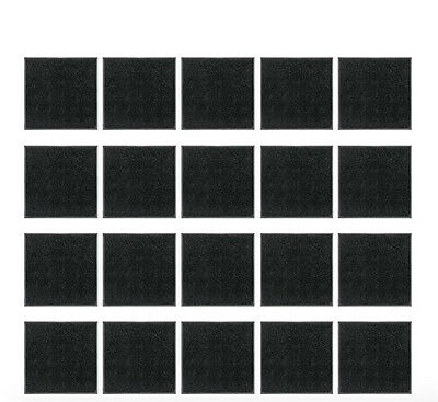 100pcs 25mm Miniatures Base Square Bases fWargaming Roleplaying and Table Games