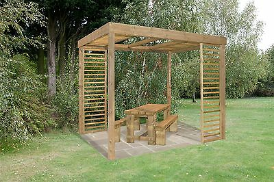 Forest Garden Dining Pergola - 10 x 8ft. From the Official Argos Shop on ebay