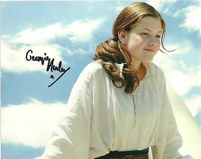 Chronicles of Narnia Georgie Henley Signed Autographed 8x10 Photo COA