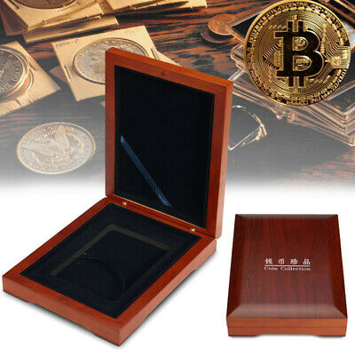 Display Box Single NGC/PCGS/Premier Coin Guardhouse Wood Case Storage Holders