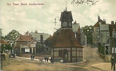Angleterre The Town Clock Leatherhead