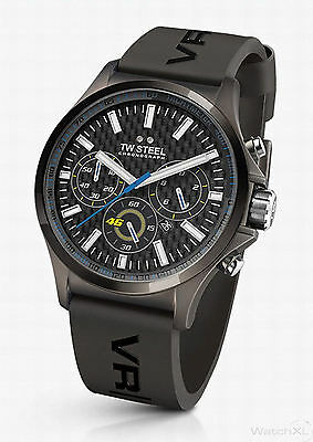 Valentino Rossi VR 46 Pilot TW Steel Armbanduhr - Watch - 45 mm