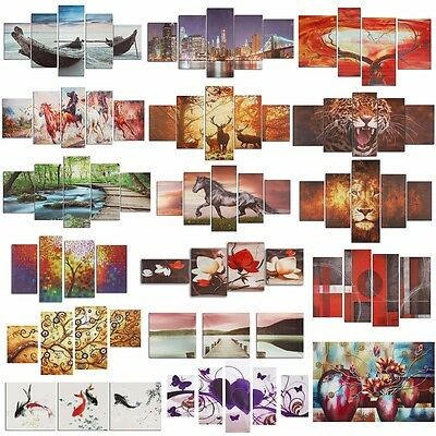 Colorful Modern Abstract Art Oil Canvas Print Painting Picture Decor No frame