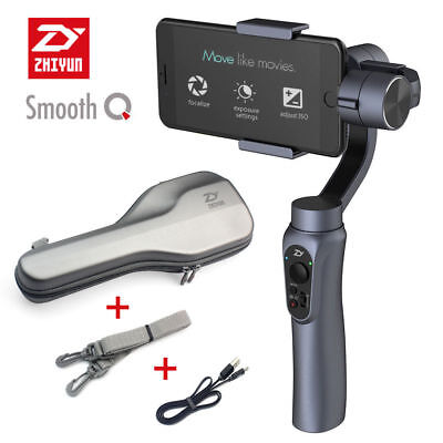 US Ship Zhiyun Smooth-Q Handheld 3-Axis Gimbal Stabilizer for Smart Phone iPhone