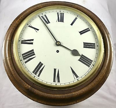 Winstanley's Of Leigh W&H Single Fusee Wall Clock