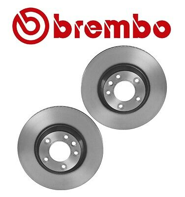 REAR SET Performance Cross Drilled Slotted Brake Rotors 288mm TBS13171 FRONT