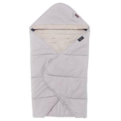 easywalker MINI Cocoon Universal Wrap (Light Grey) with super soft fleece lining