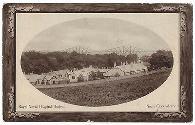 SOUTH QUEENSFERRY Royal Naval Hospital, Butlaw, RP Postcard by Wilson, Unused