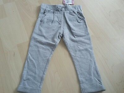 bnwt baby girls grey joggers jogging bottoms age 1.5-2 18-24 months