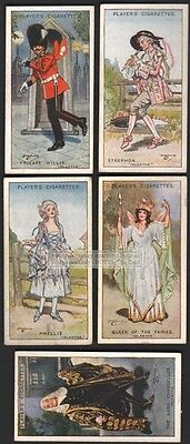Gilbert and Sullivan Operetta  - Iolanthe - FIVE 90+ Y/O Ad Trade Cards 6