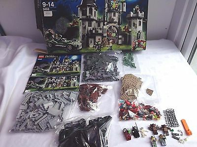 Lego Monster Fighters Set 9468 Vampyre Castle With Instructions And Box.