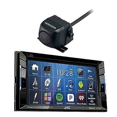 DVD/CD/AM/FM Car Stereo Receiver w/Touchscreen and Universal Rear-View Camera