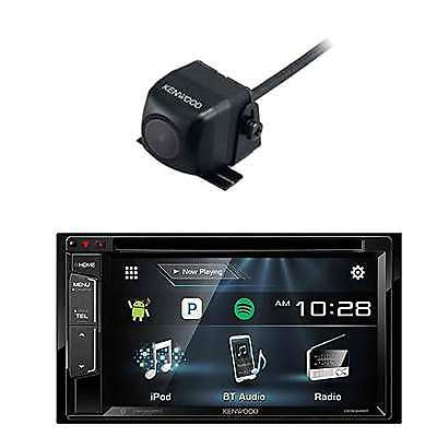 DDX25BT Multimedia Bluetooth Receiver and CMOS-22P Universal Rear-View Camera
