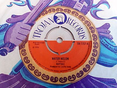 "Maytals - Water Melon - UK 1970 Trojan 7"" single nice copy"