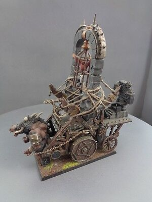 Warhammer Age of Sigmar Warriors of Chaos Warshrine Conversion Painted 586