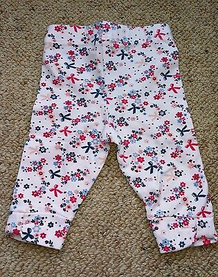 Max & Tilly Baby Pants With Bow Print (Size 0000)